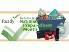 Are You Prepared? September is National Emergency Preparedness Month. No matter where you may be geographically located, the weather has been causing problems all over the country.  From hurricanes, flooding, tornadoes, to forest fires.  You must be prepared, especially if you have a child with special needs. www.special-and-determined.com #specialanddetermined #specialneeds
