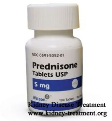 prednisone chronic kidney disease