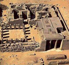 Templo del Valle, Abusir Contruido en tiempo de  Niuserre