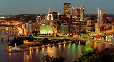 the view from the upper station on Grandview Ave. in PIttsburgh.. just got back from a Steelers game & loved it