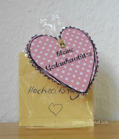 gitequi und ich: Hochzeitsgeschenk Teil 2