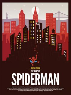 geek-art:    Dave Williams - The Amazing Spiderman Poster