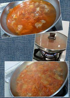 197. (5) 加水後 鍋子的蓋子蓋上 用大火煮 , 讓它滾一下