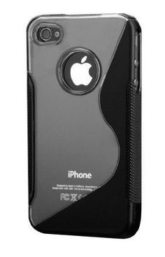 For Apple iPhone 4S/iPhone 4 S-Line Hybrid Case (Black) Item# 3301   - Click image twice for more info - See a larger selection of Cellphone Accessories at http://www.zbestsellers.com/level.php?node=130&title=cell-phone-accessories - technology, gadget , gadget accessories, cellphone accessories, gift ideas.