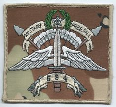 MAROPS Patch U.S Special Forces ODA 911 Team Co A 19th SF Group