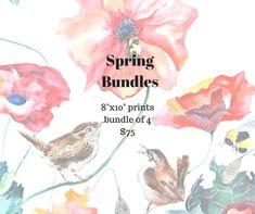 Spring Bundle Pre-Order by WoodPigeon on Etsy