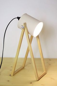 Industrial Decorating Ideas For Your Space Untitled Luminaria Diy, Diy Lampe, Creative Lamps, Tin Can Crafts, Wooden Lamp, Diy Recycle, Lamp Design, Light Up, Floor Lamp