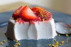 Strawberry Rhubarb and Coconut Panna Cotta [Vegan, Gluten-Free] | One Green Planet