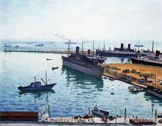 Albert Marquet - La flotte alliée Alger