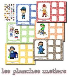 Le plus récent Images Jeux maternelle Suggestions Community Workers, Community Helpers, Learning Activities, Kids Learning, Daycare Themes, Alternative Education, Kids Class, Folder Games, Teaching French