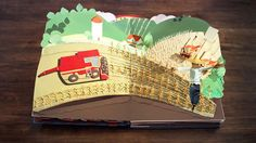 An ambitious paper craft construction for Kellogg's by Papersmith
