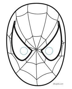 hombre araña para pintar e imprimir - Buscar con Google