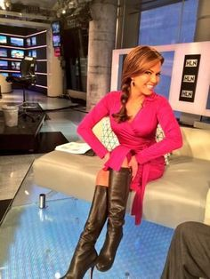 Just stumbled across this cool page for Robin Meade High Top Boots, Hot High Heels, Thigh High Boots, High Heel Boots, Knee Boots, Heeled Boots, Nice Heels, Sexy Boots, Cool Boots