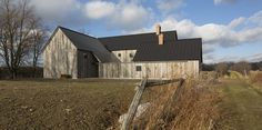 An Artist and Farmer Work With a Toronto-Based Studio to Build a Barn-Inspired Home - Photo 1 of 12 - Dwell