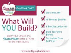 Build Your Bundle 2015 Pre-Sale Graphic