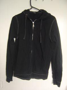 size 8 black hooded jacket from Asda   95% cotton 5% elastane £1.50 buy now at www.facebook.com/KarensClobber