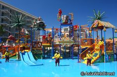 Splash Jungle Water Park - Phuket's First Water Park with Tower Slides & Aqua Play Pool