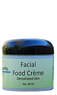 Real Purity Facial Food Crème - Sample Size by Real Purity. $2.50. We've designed this creme for oily to normal skin, and it is the lightest facial creme that Real Purity has. This creme will quickly absorb into your skin and after a few days you will see your face nourished and smooth
