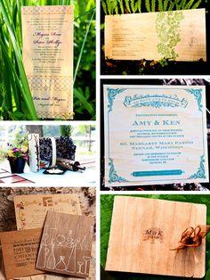hodge podge wood invites