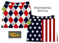 Rock the Red, White and Blue with Loudmouth #Golf