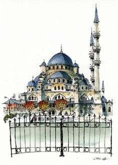 Yeni Cami, Istanbul | Flickr By Chris Lee ~ we loved it! www.armadaistanbul.com www.armadaistanbulculture.com