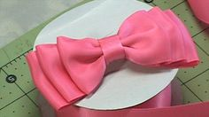 Tutorial How to make Quick and Easy Ribbon Bow, DIY