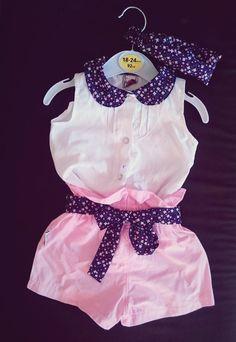 Sprzedam bajeczny komplecik!! Spodenki z paskiem+koszula+opaska. Rozmiar 68cm. :) Koszula zapinana na ozdobne guziczki, wygodna. :)