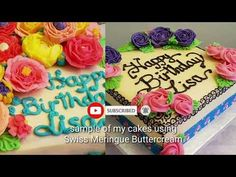 How To Make Perfect Swiss Meringue Buttercream (SMBC) - YouTube Swiss Meringue Buttercream, Cake Creations, Frosting, Birthday Cake, Cakes, Youtube, Desserts, How To Make, Tailgate Desserts