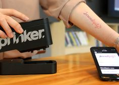 Handheld machine lets you print temporary tattoos in seconds at home...