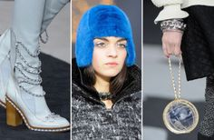 From Furry Helmets to Globe Handbags, Let's Take a Closer Look at All the Fall 2013 Chanel Accessories