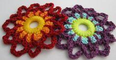 Die zweite gehäkelte Paradiesblume - second crocheted paradise flower