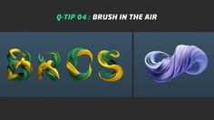 """In this video I show you how to create a """"brush in the air"""" effect.  All you have to do is to create a landscape object (or object with a lot of polygons), add """"spline wrap"""" deformer as a child and then create a spline. This spline is gonna be our shape created with the brush effect.  Audio: Phonat - Ghetto burnin'  *All the object properties could variate with different typographies or splines."""