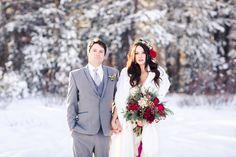 Snowy Winter Wedding Inspiration In Lake Tahoe