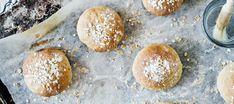 Sämpylätaikina | Suolaiset leivonnaiset | Reseptit – K-Ruoka Hamburger, Vegan Recipes, Bread, Baking, Food, Vegane Rezepte, Brot, Bakken, Essen