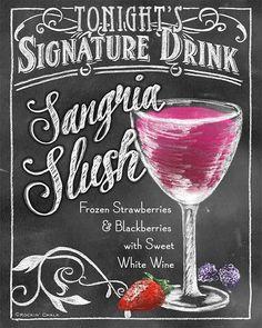 Sangria Slush (Rockin' Chalk)
