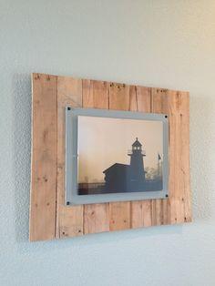 DIY Wood Pallet Picture Frames