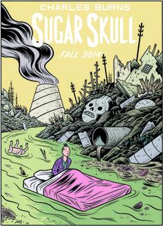 Sugar Skull by Charles Burns Comic Book Covers, Comic Books, Album Tintin, Blake Et Mortimer, Ligne Claire, Comic Styles, Comic Artist, Madonna, Illustrators