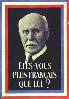 Philippe Pétain propagande du Régime de Vichy