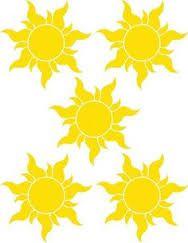 Resultado de imagem para sol de rapunzel enredados