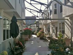 Swan's Market, retrofit cohousing in Oakland, CA. Cooperative living is an excellent way to reduce your carbon footprint & improve quality of life.