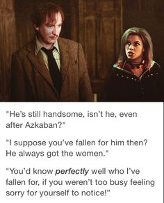 Tonks and Lupin Tonks Harry Potter, Harry Potter Part 2, Harry Potter Friends, Harry Potter Ships, Harry Potter Tumblr, Harry Potter Jokes, Harry Potter Universal, Harry Potter Fandom, Harry Potter World