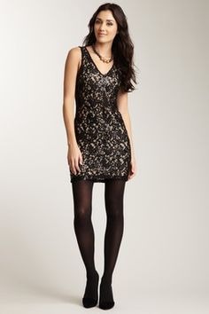Romeo & Juliet Couture...Embellished Lace Dress