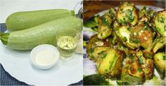 """Tasty hot snack """"Bourgeois in a padded jacket"""" Hot Snacks, Eastern European Recipes, How To Cook Zucchini, Grill Party, Zucchini Fries, Fast Dinners, Carbohydrate Diet, Russian Recipes, Vegetable Side Dishes"""