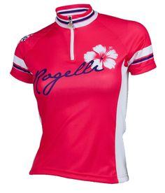 ROGELLI SABRINA - ultralekka damska koszulka rowerowa Różowy - MikeSport.pl
