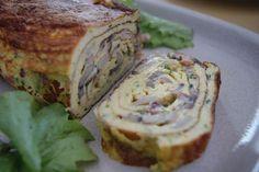 Disto e Daquilo: Omelete Japonesa Enrolada / Japonese Wrapped Omele...