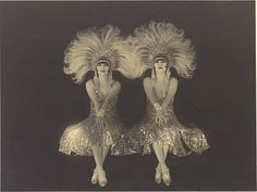 [The Dolly Sisters] [The Dolly Sisters] Artist: Walery (Polish) Date: 1920s Medium: Gelatin silver print Dimensions: 22.9 x 28.4 cm (9 x 11 3/16 in.) Classification: Photographs Credit Line: Ford Motor Company Collection, Gift of Ford Motor Company and John C. Waddell, 1987 Accession Number: 1987.1100.245
