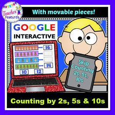 Are you wanting to try out Google Classroom or add to your 1:1 classroom? Your students will have so much fun skip counting by 2s, 5s and 10s on their digital device! This math activity for grades K-1 even includes two puzzles and is the answer to infusing technology into your classroom.