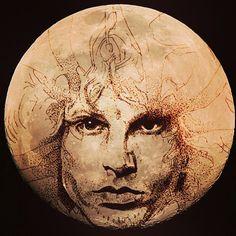 Jim Morrison Moon print 18x24 by SoulRide on Etsy, $15.00
