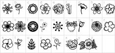 Download & Install Free Janda Flower Doodles Font – Janda Flower Doodles .ttf, botanical fonts, daisies fonts, daisy fonts