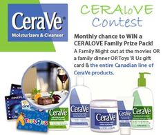 Enter the CeraVe CeraLoVe contest for your chance to win a Family Prize Pack. 404 Page, Family Night, Free Stuff, Packing, Pageants, Bag Packaging